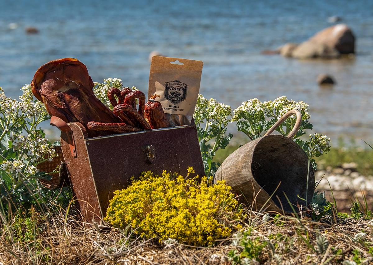 Hiiumaa mahedad ja maitsvad tooted Sinu piknikukorvi!